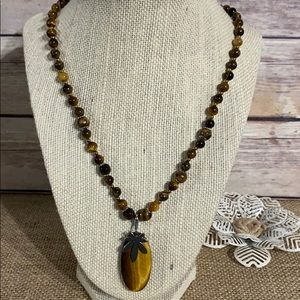 South African Tigers Eye Necklace